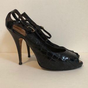 Giuseppe Zanotti Shoes - Giuseppe Zanotti  Paten Leather Pumps